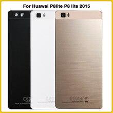 Новый P8lite задний корпус чехол для Huawei P8 lite 2015 батарея задняя крышка Дверь задняя крышка Замена