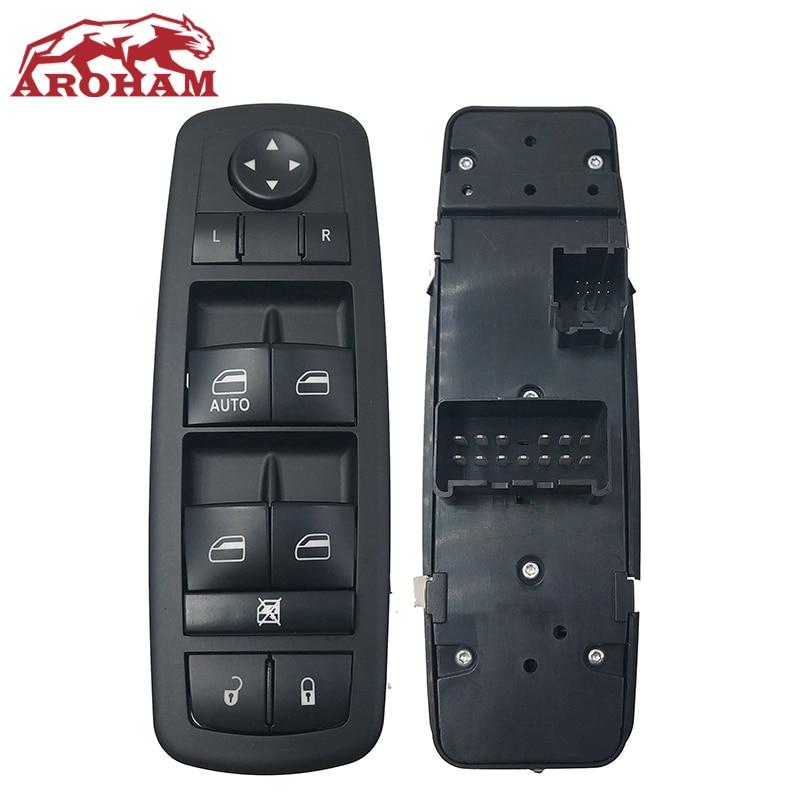 Nuevo para Dodge Journey Nitro 2008-2012 Jeep libertad interruptor de ventanilla principal 4602632AG 4602632AH 4602632AF 4602632AD 4602632AC