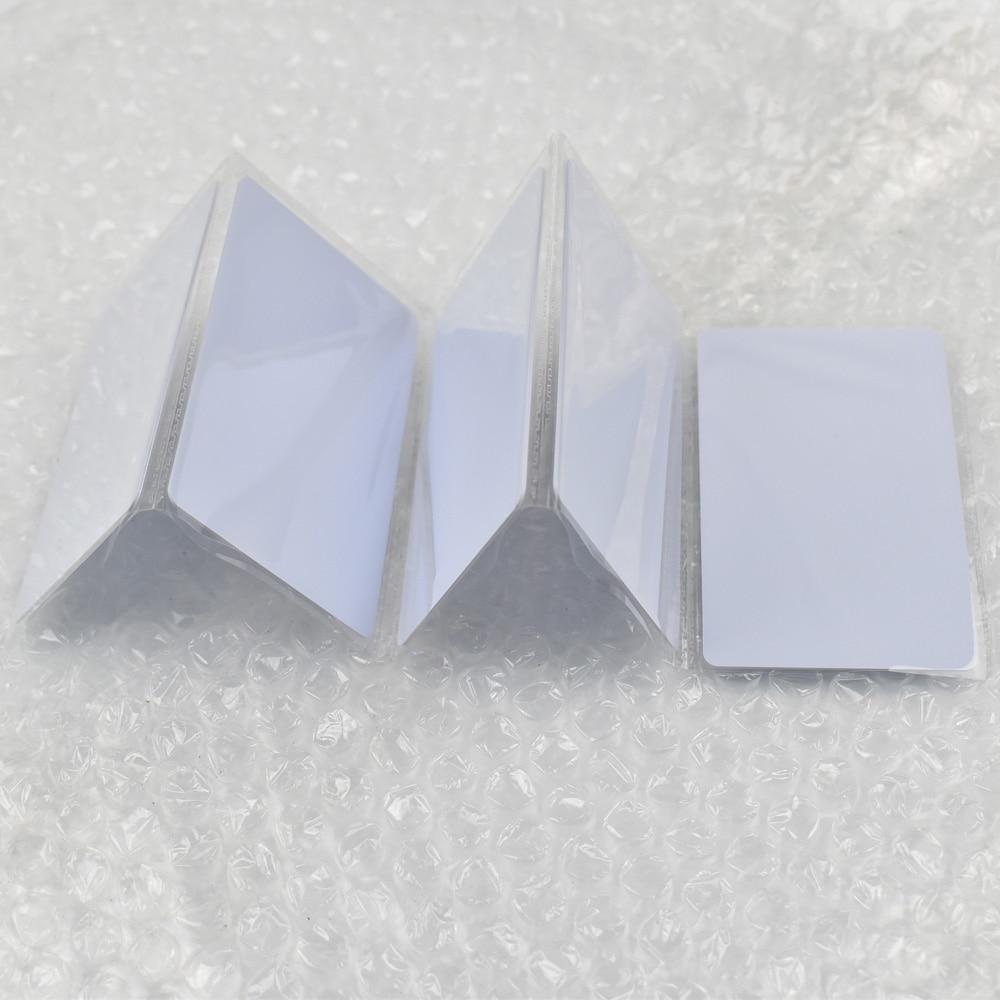 5 pçs/lote ISO14443A PVC Branco Cartões NFC 216 Tag 888 Bytes Para O Android,IOS Telefones NFC