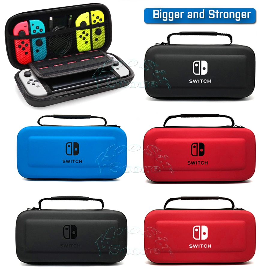 Nintendoswitch Portable Hand Storage Bag Nintendos Nintend Switch Console EVA Carry Case Cover for N