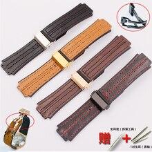 Accessoires de montre 22mm boucle pliante pour Hublot Premium bracelet en cuir 25*19mm hommes et femmes Silicone sport Fusion Logo bracelet