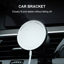 2021 Magnetic Car Phone Holder Stand For MagSafe Charger Metal Air Vent Holder In Car GPS Mount Hold