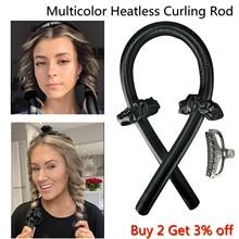 Heatless Curling Rod Headband Lazy Curler Set Make Hair Soft Shiny No Heat Spiral Pear Flower Curlin