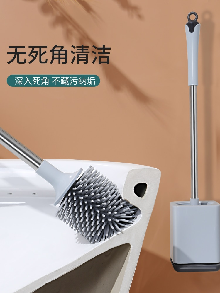 Simplicity Durable Toilet Brush Stainless Steel Sturdy Wall Mounted Toilet Brush Convenient Brosse Wc Bathroom Products DK50TB enlarge