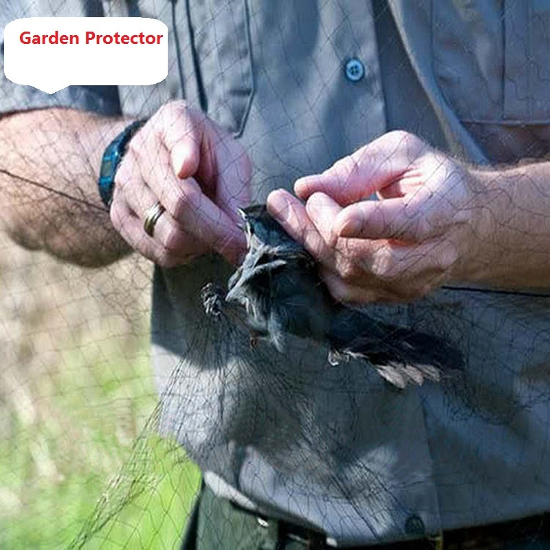 Rrjeti anti zog, rrjeta e peshkimit, kurthet e të lashtave mbjellin - Produkte kopshti - Foto 2