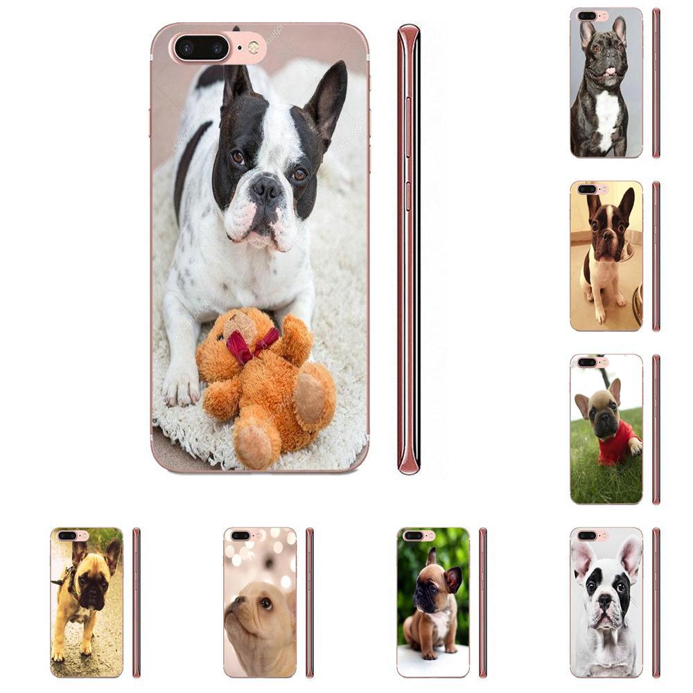Enmascarado Frenchie Bulldog francés cachorro para Xiaomi CC9 CC9E Mi 3 4 4i 5 5S 6 6X 8 9 SE jugar Plus Pro Lite A1 mezclar 2 Nota 3