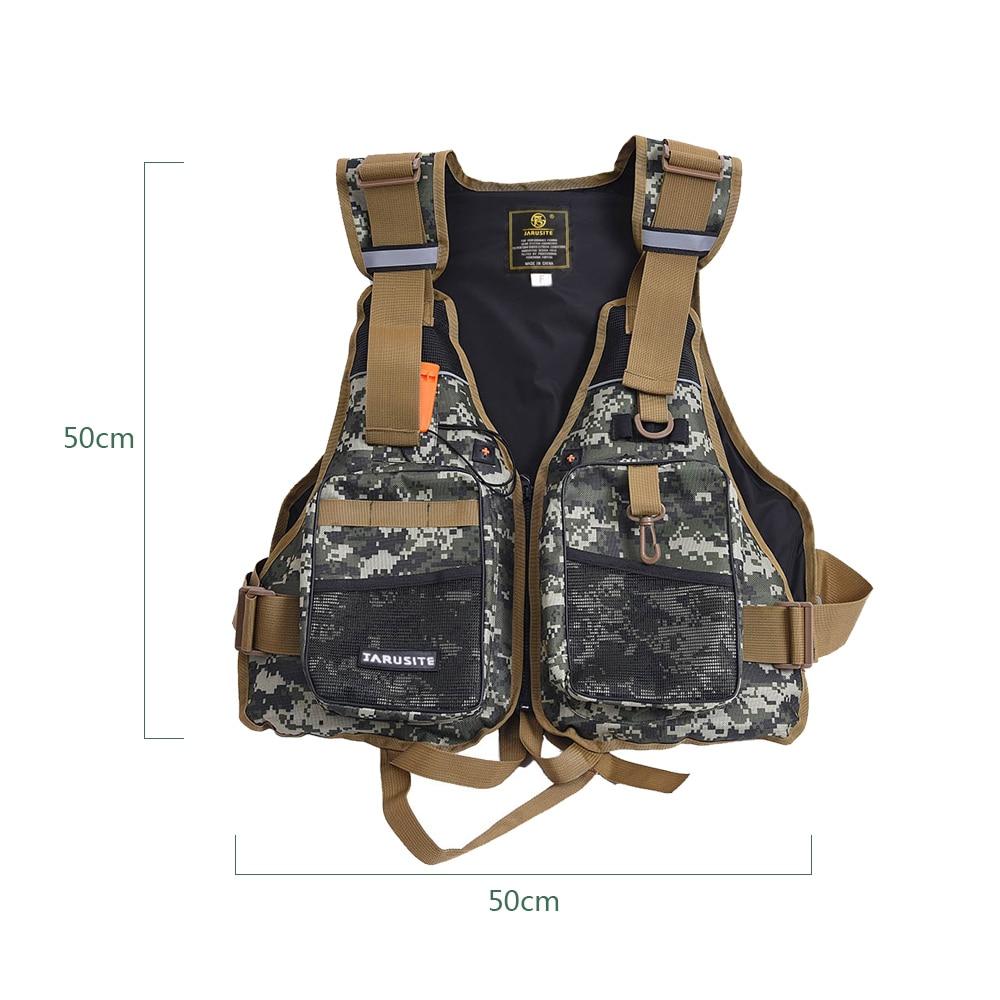 Professional Flotation Adult Safety Life Jacket Survival Vest Swimming Kayaking Boating Drifting with Emergency Whistle enlarge