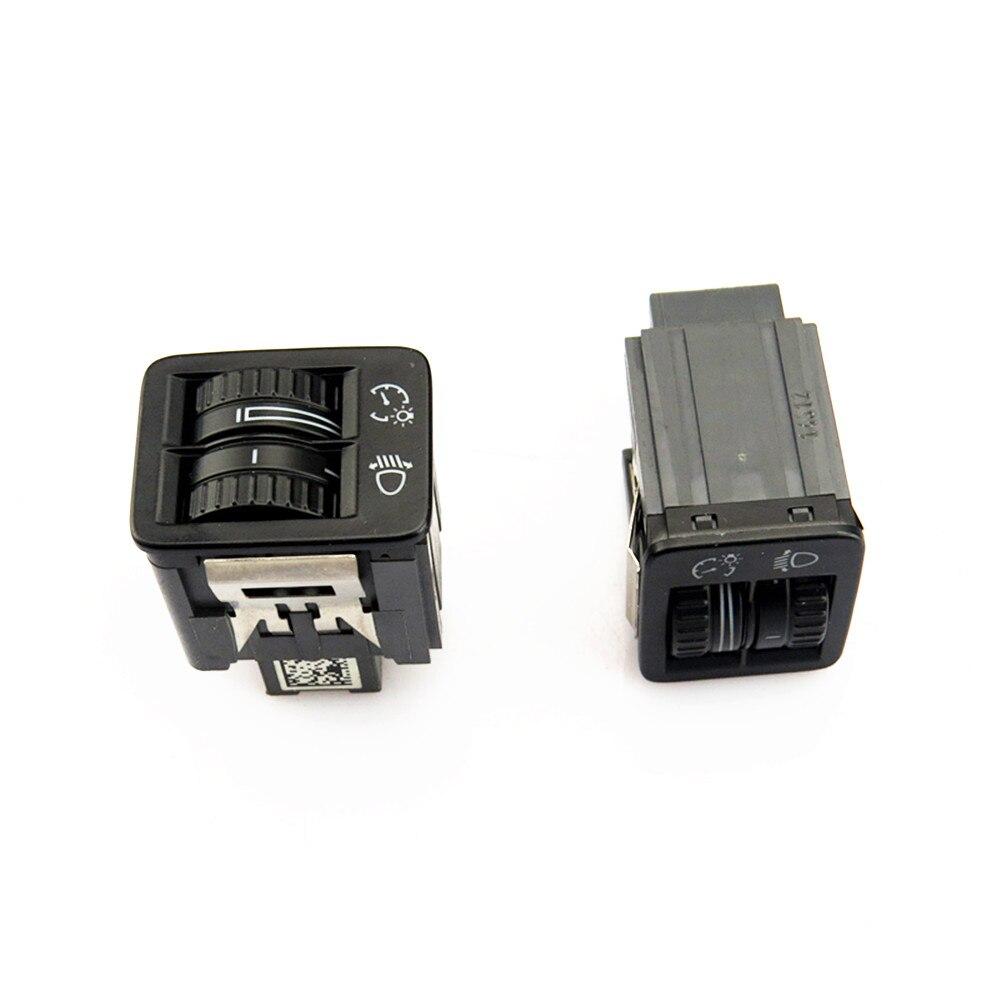 SCJYRXS OEM tablero brillo atenuador faro ajuste de altura interruptor para Passat B6 Sharan CC Seat 3C8 941 333 3C0 941 334A