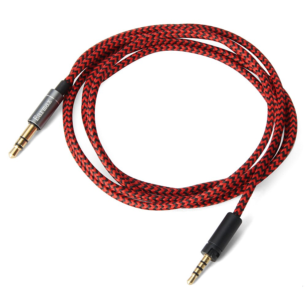 Upgrade Replacement Braided OFC Aux Cable Extension Cord For Sennheiser Momentum 3.0 2.0 1.0 3 2 1 H