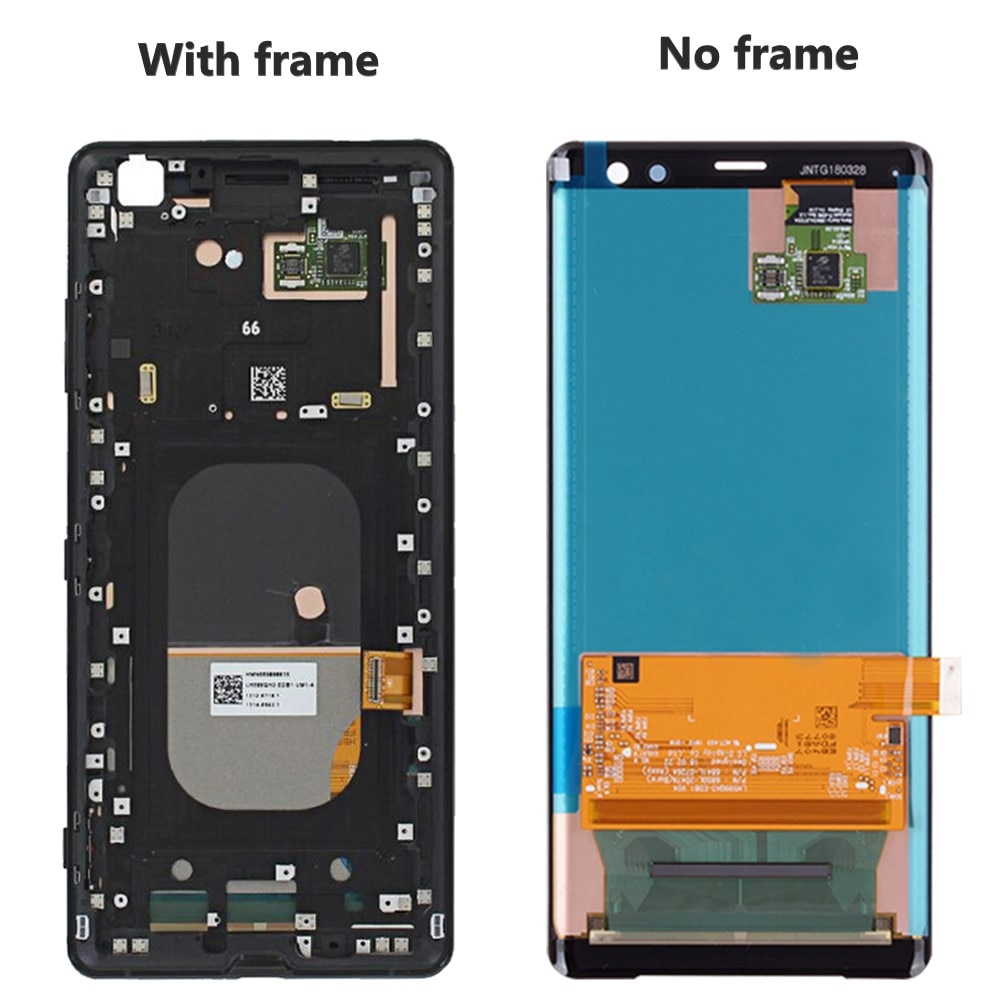 6.0'' Original Screen For SONY Xperia XZ3 Lcd Display Touch Screen Digitizer For Xperia XZ3 With Frame Replacement H8416 H9436 enlarge