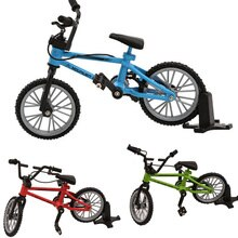 Alliage mini BMX doigt vtt jouets boîte au détail + 2 pièces pneu de rechange mini-doigt-bmx vélo jeu créatif cadeau pour les enfants