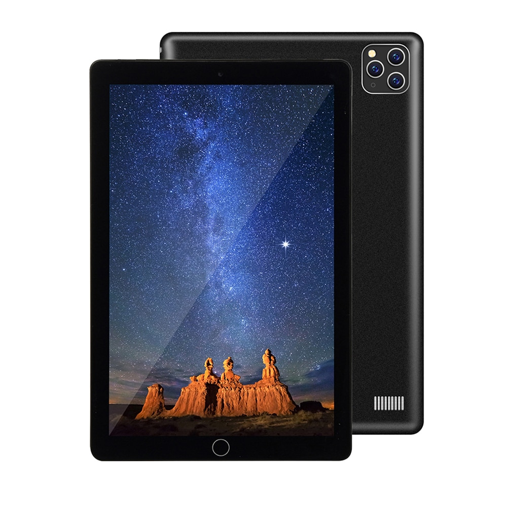 2021 Newest 10.1 Inch Tablet 4G Android System 6GB RAM 128GB ROM Tablet IPS 1960×1080 Three-Camera