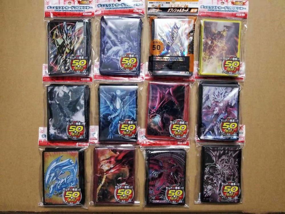 500 teile/los Anime Yu-Gi-Oh! Dunkler Magier Mädchen yu gi oh Cosplay Bord Spiele Karte Ärmeln Barriere Protector spielzeug geschenk