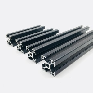 Prusa i3 MK3 Black anodized Aluminum extrusions kit 3030 profiles