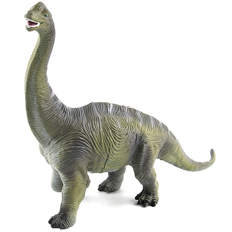 Big Size Jurassic Wild Life Brachiosaurus Dinosaur Toy Plastic Play Toys World Park Dinosaur Model Action Figures Kids Boy Gift