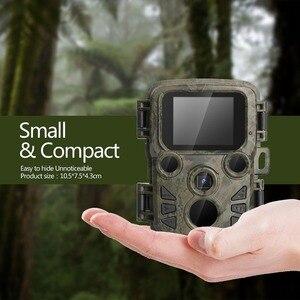New Cámara sendero caza16MP Mini301 1080P visión nocturna 0,5 gatillo foto trampa de Vida Silvestre Chasse cámaras de vigilancia