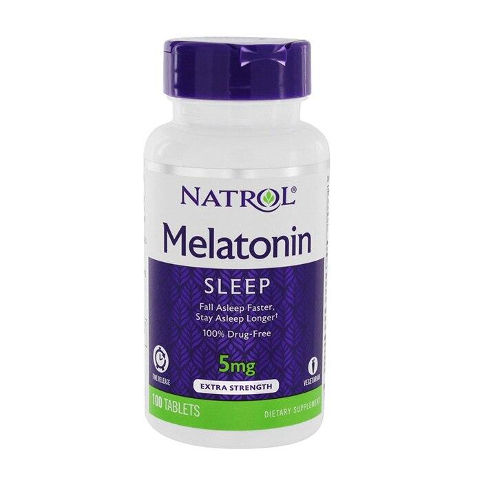 Natrol la melatonina 5 mg 100 Uds