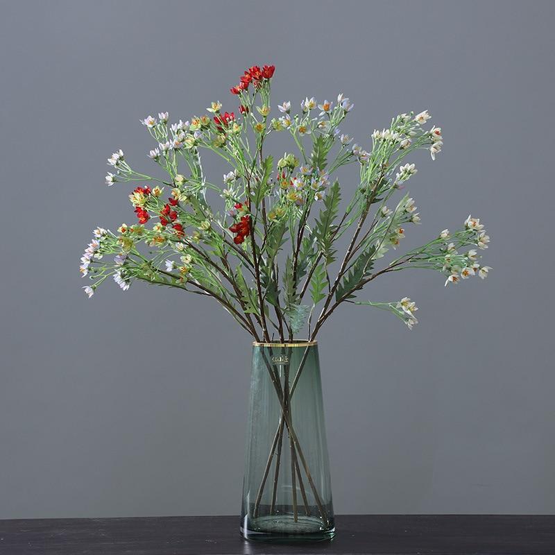 Soporte de Boquet de boda con estrellas modelo 5-Merous, decoración de flores de imitación, muebles, accesorios de grabación, Flo Artificial
