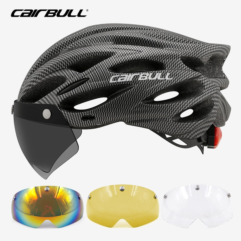 Casco ligero para bicicleta para hombre y mujer, protección de cabeza para...
