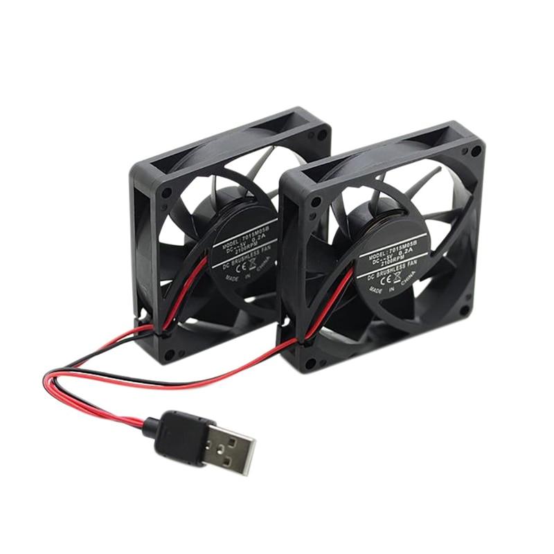 Маршрутизатор Вентилятор охлаждения Mute радиатор для RT-AC68U/AC66/AC87U/R8000/AC5300/AC18R6300