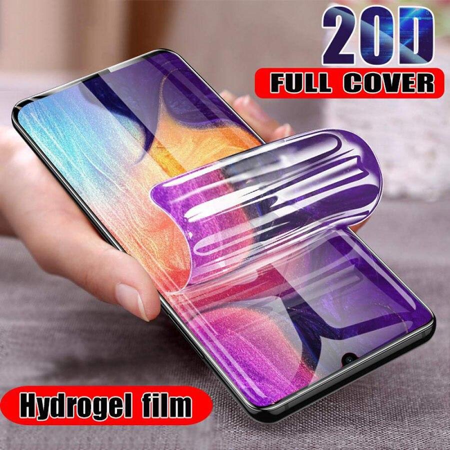 20D hidrogel de película para Nokia 7,1, 6,1, 5,1, 3,1, 2,1, 7 8,1 8 Sirocco 6 Protector de pantalla para Nokia 6 2018 5 7 plus no de vidrio