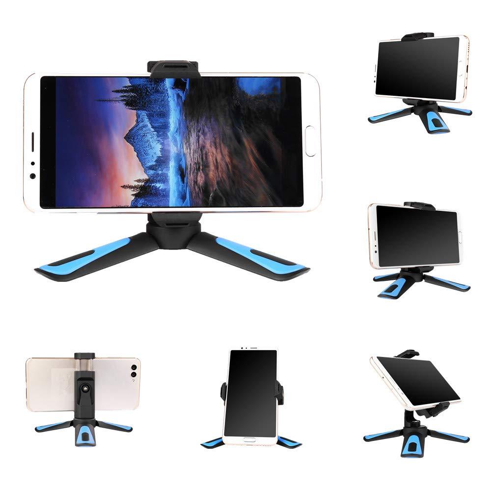XILETU 360 rotación Disparo Vertical 2 en 1 Mini trípode teléfono soporte de montura para iPhone Max X Xs 8 7 Plus Samsung S8 S9 Piexl 2 3