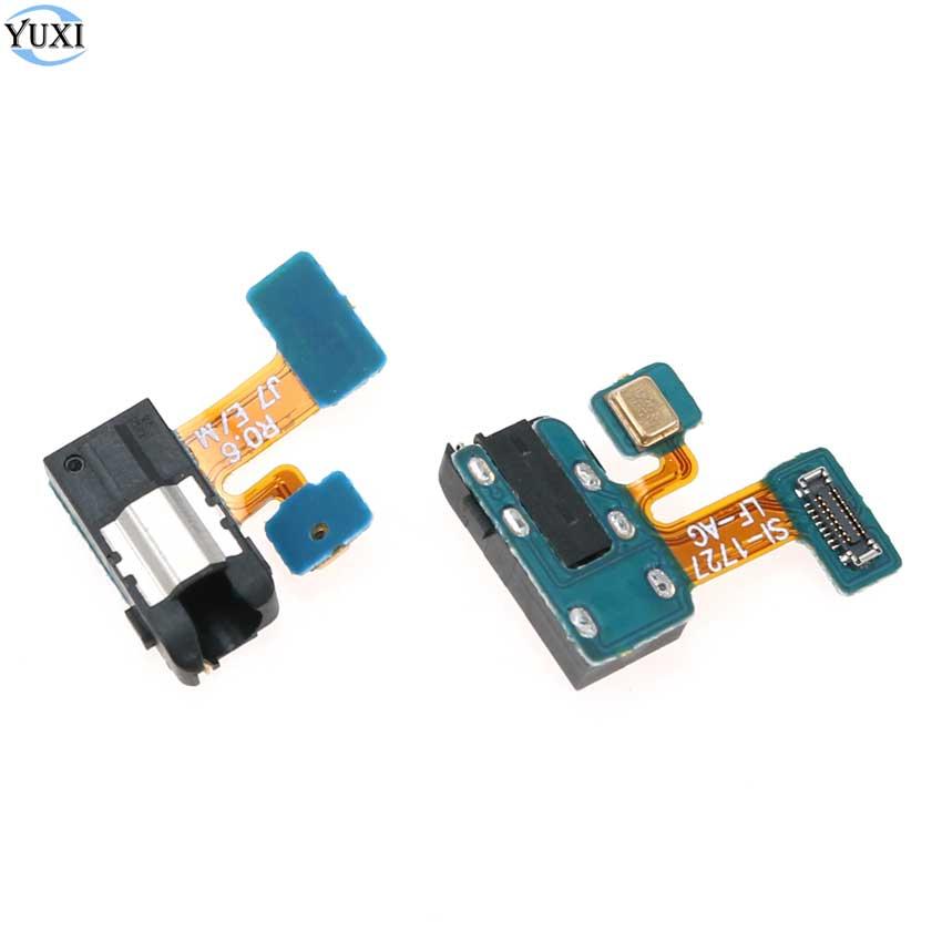 YuXi 2 peças Para Samsung Galaxy J3 J5 J7 2017 J330 J530 J730 J4 2018 J400 J400F Jack do Fone de ouvido Fone De Ouvido jack de áudio + Microfone Flex Cable