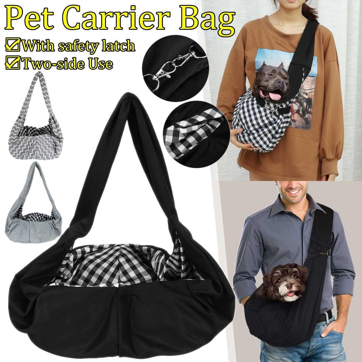 Estilingue cão portador conforto bolsa de ombro ao ar livre malha sling bolsa pet viagem gatos tote respirável filhote cachorro frente saco do cão