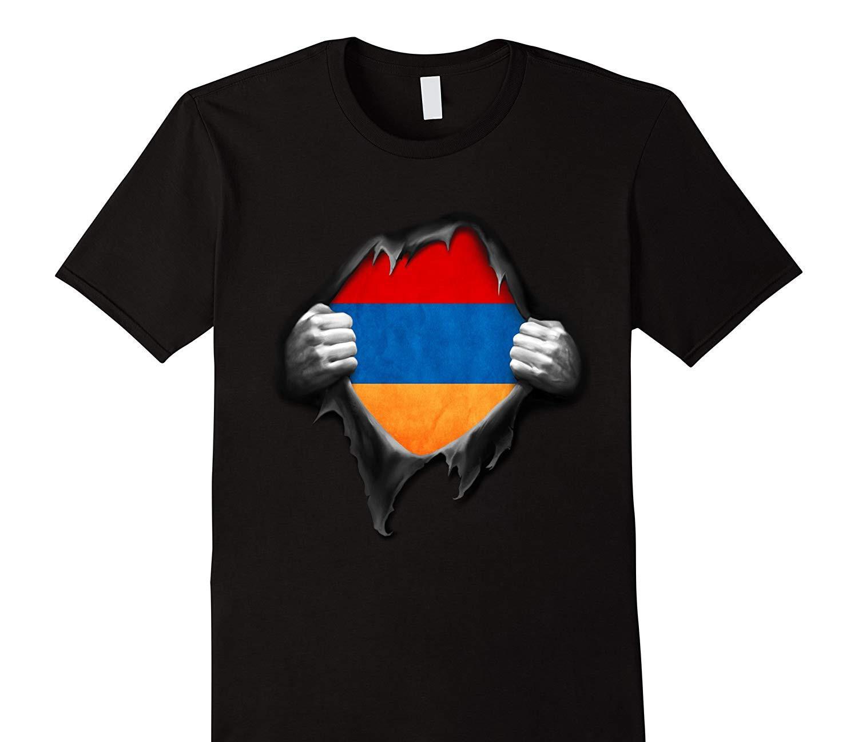 Camiseta con bandera de Armenia, camisetas de algodón de marca de buena calidad armenio, camisas geniales de estilo veraniego