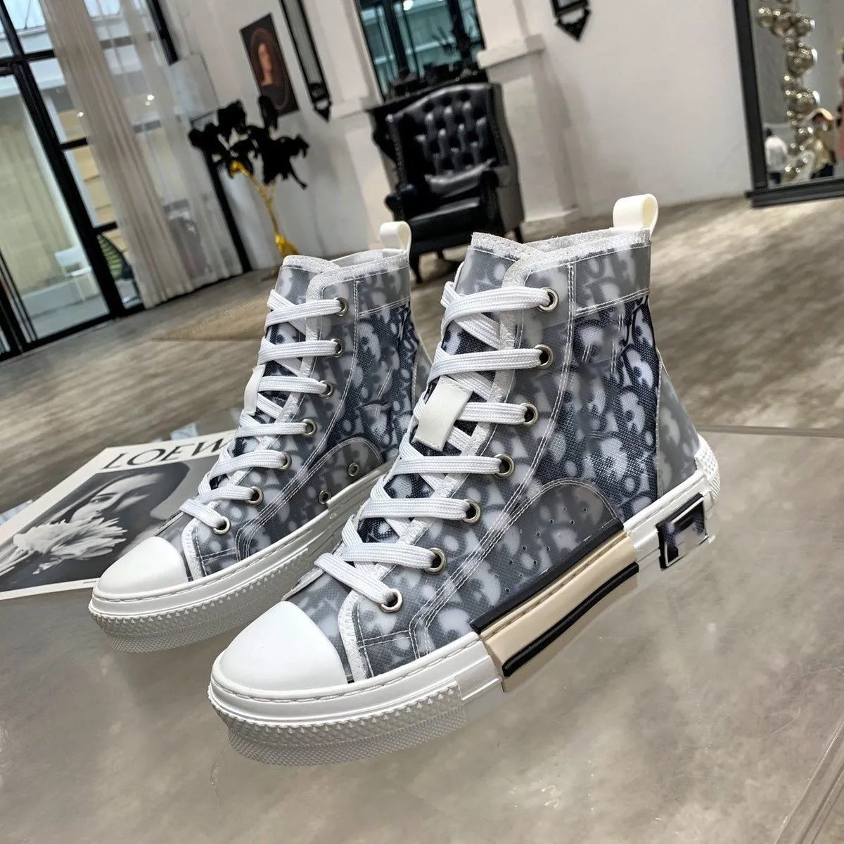 2021 new ladies shoes high top canvas luxury designer fashion classic couple ladies casual shoes siz