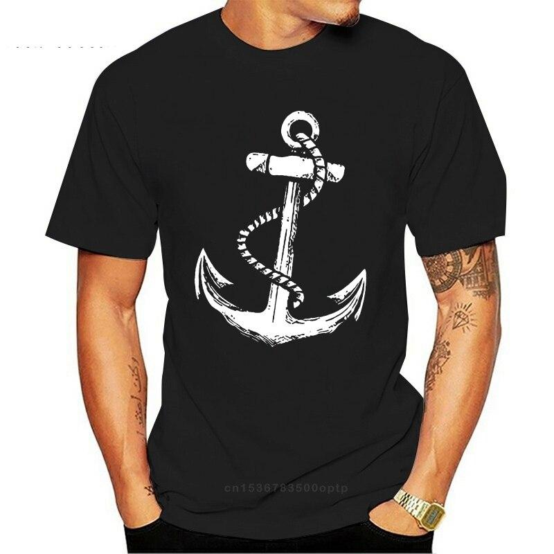 Camiseta azul marino Kapitan Herren Camiseta con estampado de Strand tatuaje