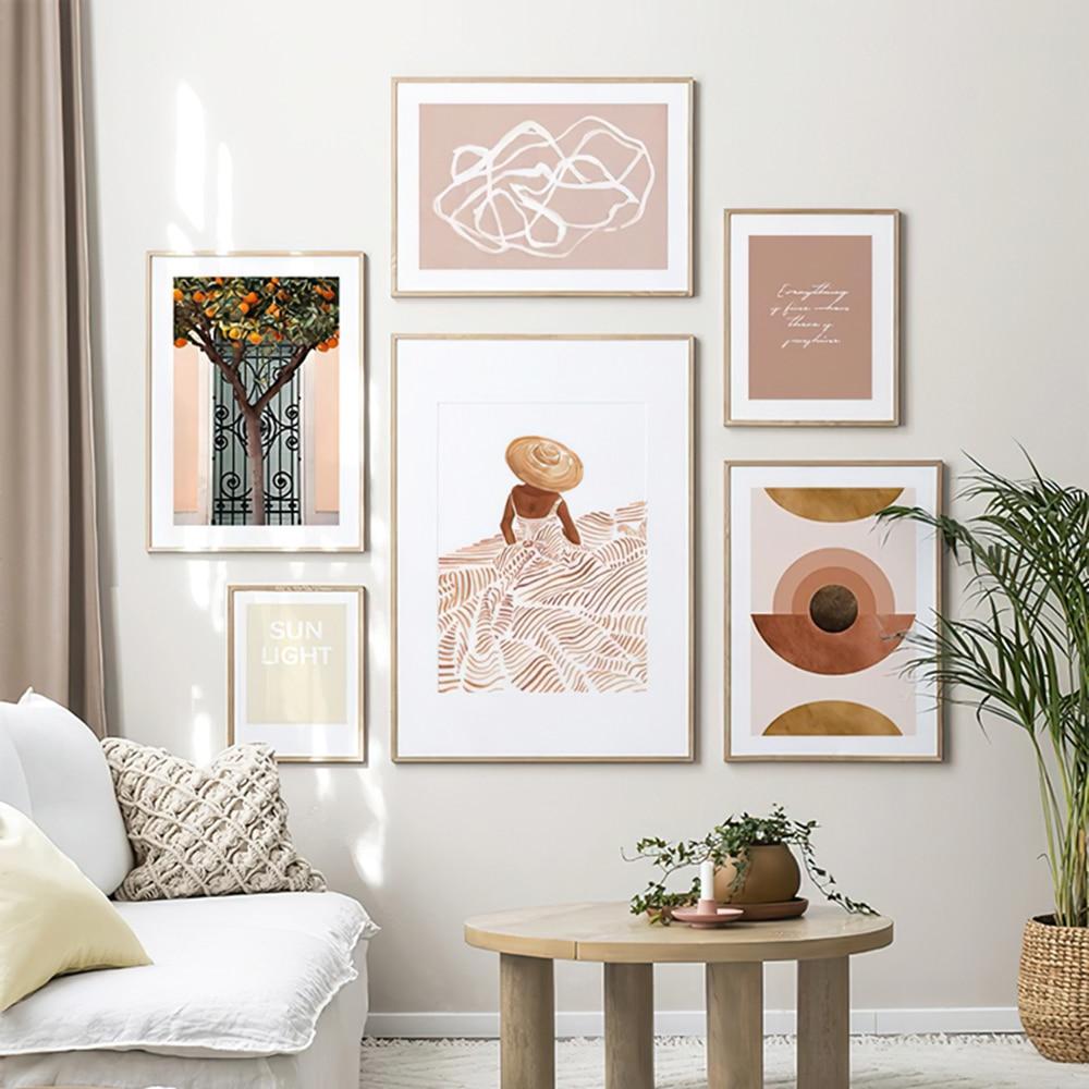 Imágenes abstractas de patio para el hogar, Cuadros de diseño moderno para...