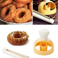 diy donut mold cake bread cutter maker mold home kitchen cake decorating tools bakeware desserts baking mould baking tools