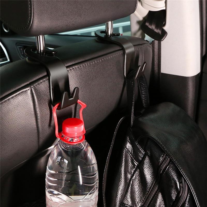 20kg Last-lager Universal Auto Hinten Zurück Sitz Haken Organizer Aufhänger für Tasche Tuch Auto Zubehör Innen Auto produkte