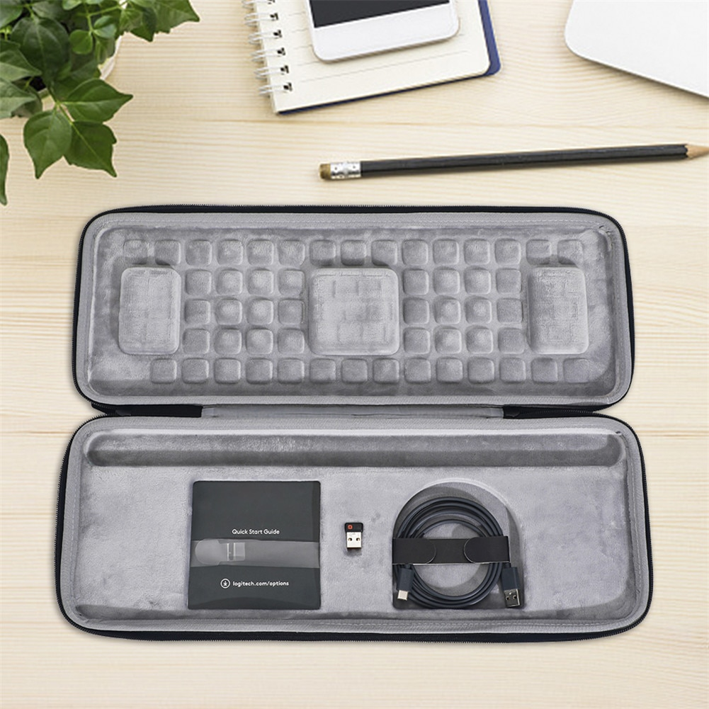 AliExpress - Storage Case Travel Portable Keyboard Protective Bag for Logitech Craft Advanced Keyboard gaming computer peripherals