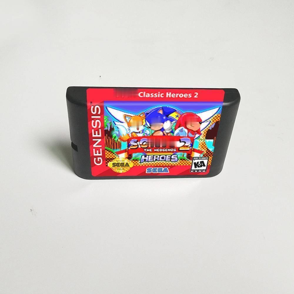 Soniced-tarjeta de juego MD para Sega Megadrive Genesis, Cartucho de consola de...
