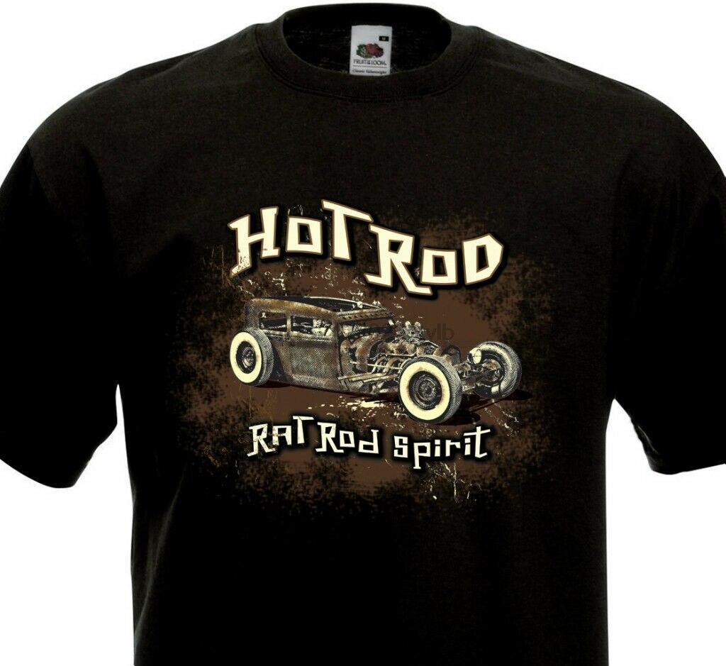 T-shirt-hot rod rat rod kustom custom spirit-culture rockers riders rat fink
