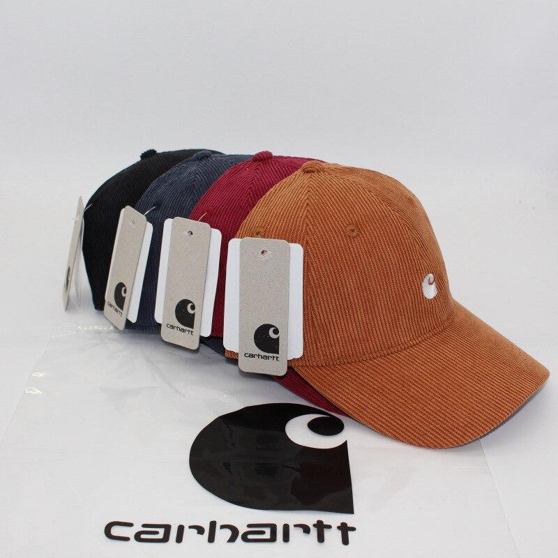 Вельветовая бейсболка в стиле ретро, фирменная Кепка для инструментов, Кепка с перекрестными краями, мужская и женская модная кепка для пут...