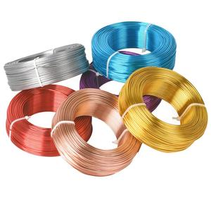 1 Large Roll 0.8mm/1mm/1.5mm/2mm/2.5mm/3mm Aluminium Soft Metal Crafts Beading Wire for Jewelry Making DIY