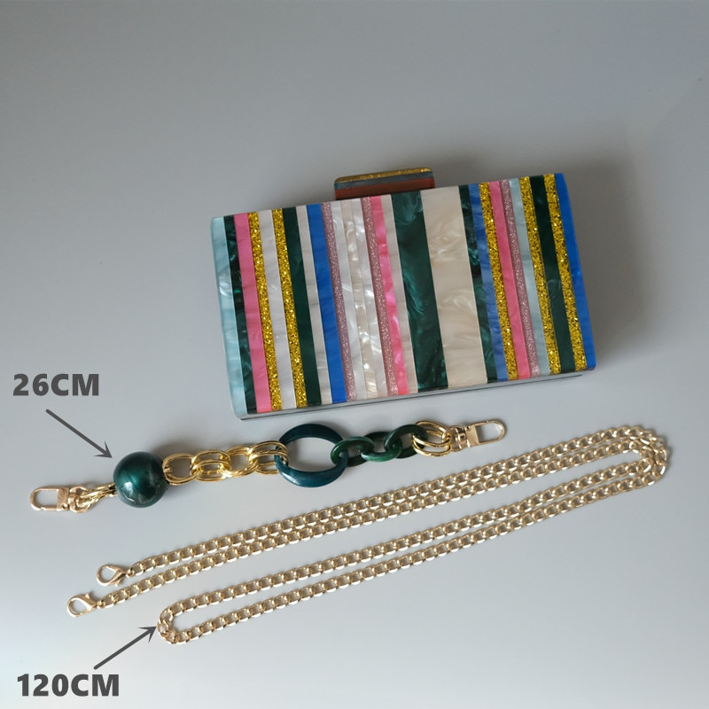 Bolsa Color Marble Pearls