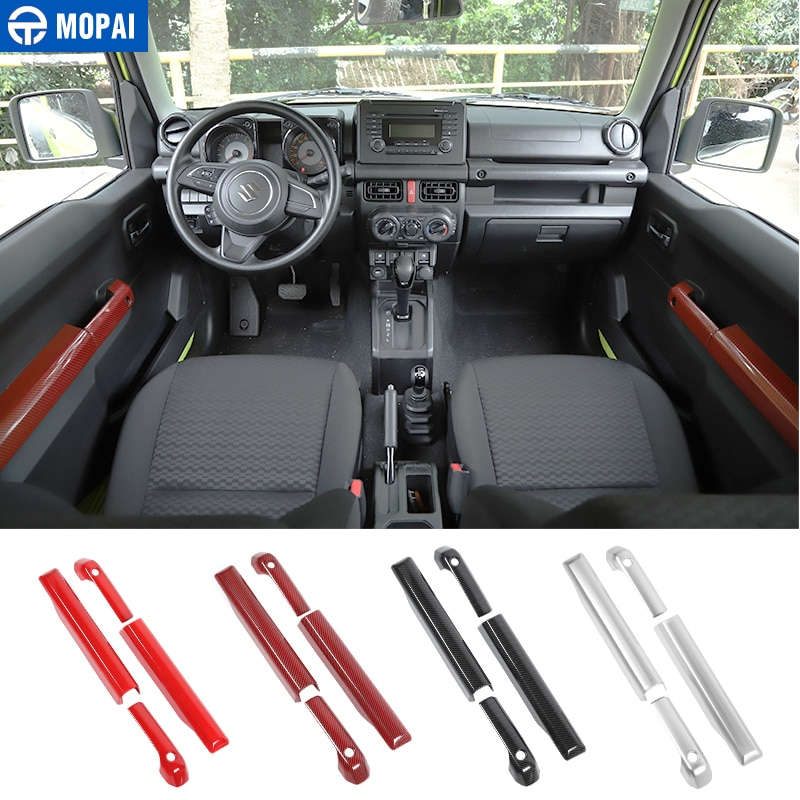 MOPAI Automotive Interior Stickers for Suzuki Jimny 2019+ Car Door Handles Decoration Cover for Suzuki Jimny 2019+ Accessories