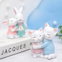 Mode artisanat doux decoration de la maison-petit chat decoration de la maison accessoires dessin anime chat gateau decoration de gateau