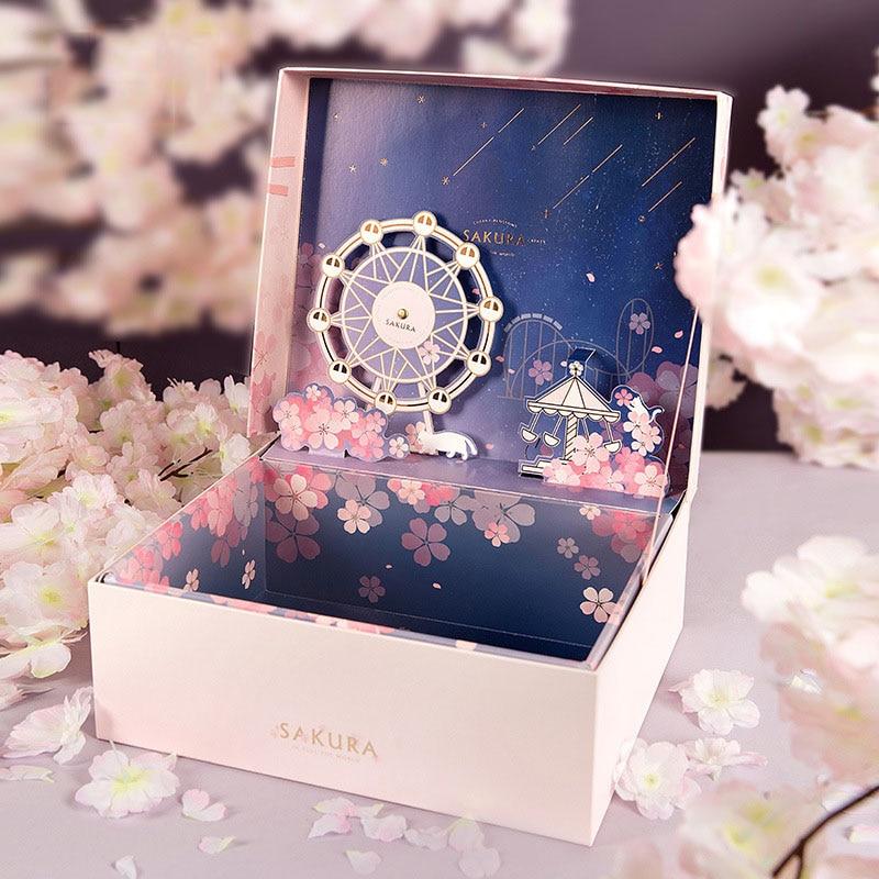 Подарочная коробка на Рождество, свадебные коробки для торта, вечерние подарочные коробки на День святого Валентина, Подарочная коробка на ...