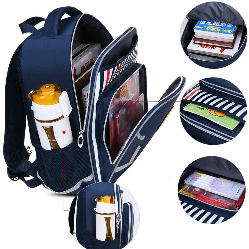 Waterproof schoolbag Children School Bags Orthopedic school Backpack primary Backpack Kids school bookbag Boys Girls Mochila недорого
