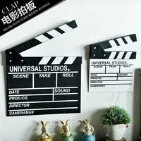movie field record playing board director board shooting background props studio photography shop decoration supplies