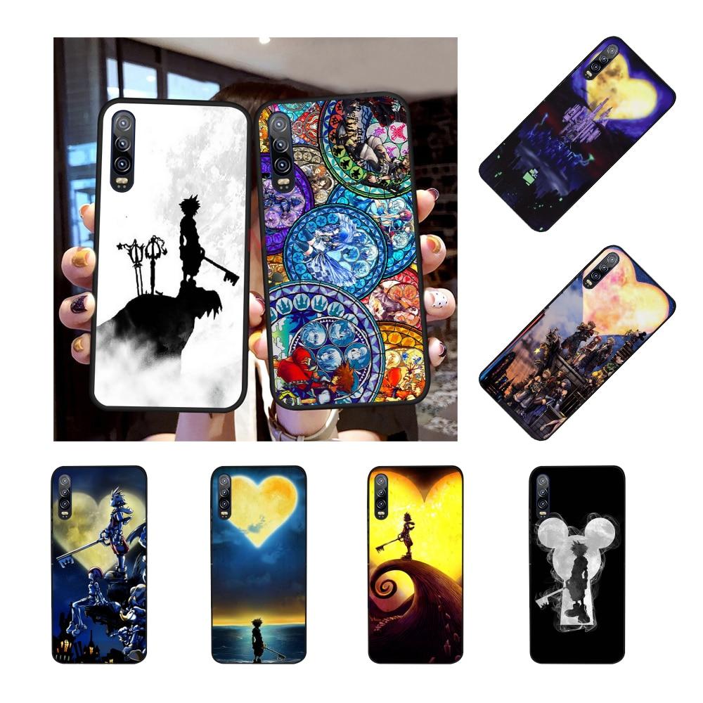 NBDRUICAI Anime Reino corazones funda del teléfono para Huawei P30 P20 P10 P9 P8 amigo 20 10 Pro Lite