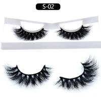 mink hair false eyelashes natural cross multi layer 3 dimensional eye ophthalmic hair 3d false eyelashes makeup cosmetic gift