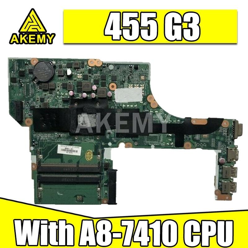 AKemy الرئيسية مجلس 828432-601 837584-001 لإتش بي ProbBook 455 G3 455-G3 445 G3 اللوحة المحمول مع A8-7410 DAX73AMB6E1