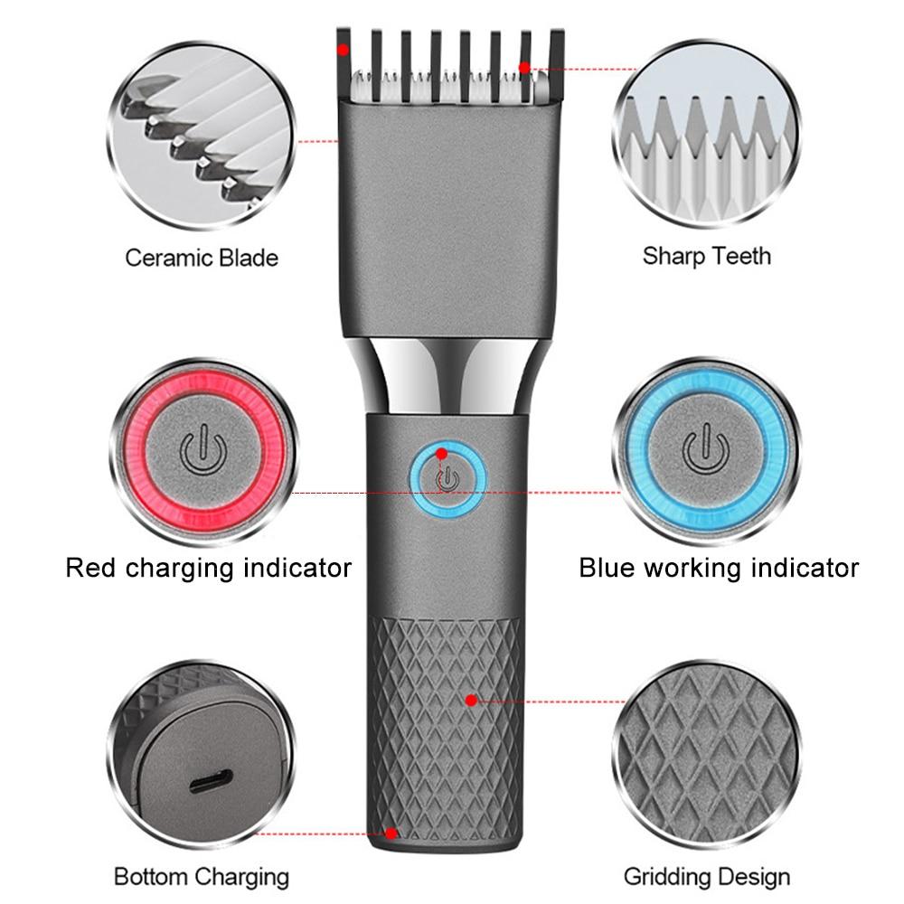 Professional Hair Clipper Mower Hair Trimmer for Men Beard Electric Cutter Hair Cutting Machine Haircut Cordless Beard Shaving enlarge