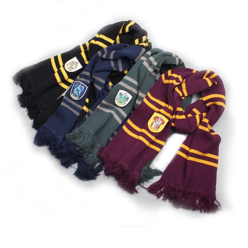 School Scarf  Potter Cosplay College Hermione Scarves Neckerchief